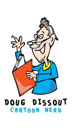 Cartoon character - Doug Dissout