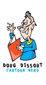 Cartoon character - Doug Dissout