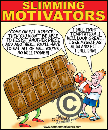 funny weight loss motivator | Cartoon Motivators