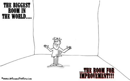 Room For Improvement cartoon
