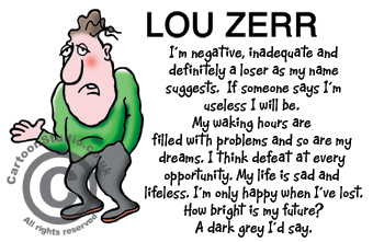 Lou Zerr - loser by name loser by nature!