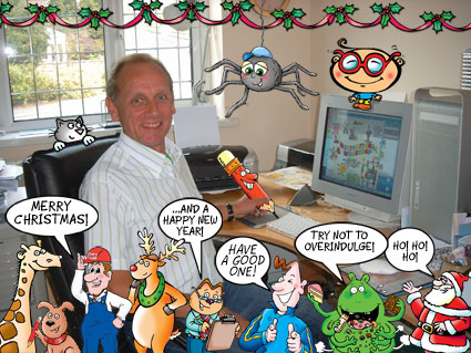 Merry Christmas from all the 'STAFF' at the Cartoon Studio!