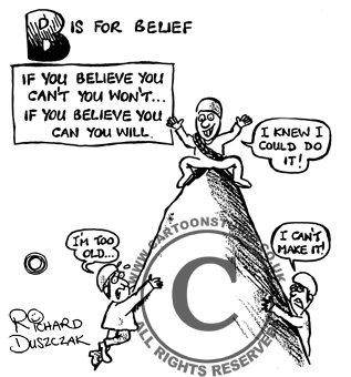 B is for BELIEF!
