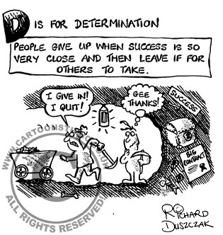 D is for Determination!