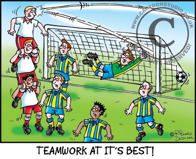 Teamwork at it's best!