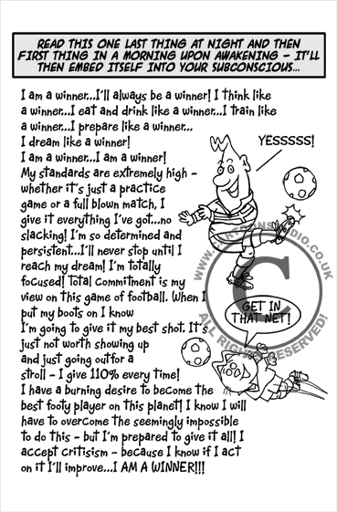 Cartoon - The Power of Affirmations!