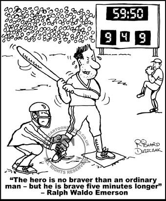 Bravery cartoon!