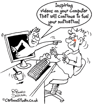 Motivation - Popping out of your computer screen!