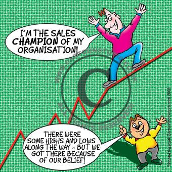 Sales champion!