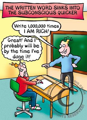 The Written Word Sinks in Quicker!