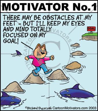 Cartoon Motivators Motivational Cartoons And Funny Motivators It S The Road To Success